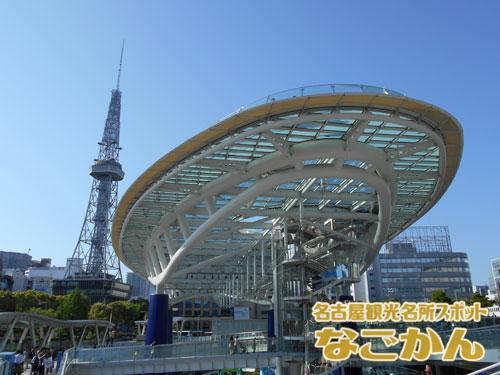 オアシス21と名古屋テレビ塔